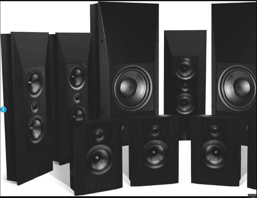 Focal Chora 7.2.4 Dolby Atmos Home Theater System Black friday Deals