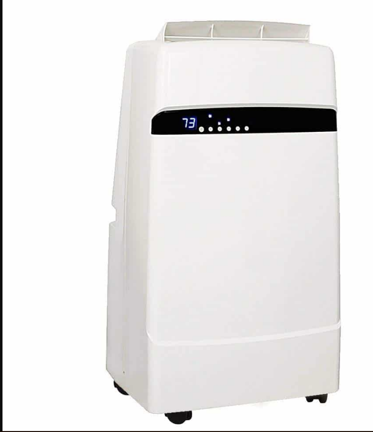 Whynter Dual Hose Portable Air Conditioner with Heater Black friday